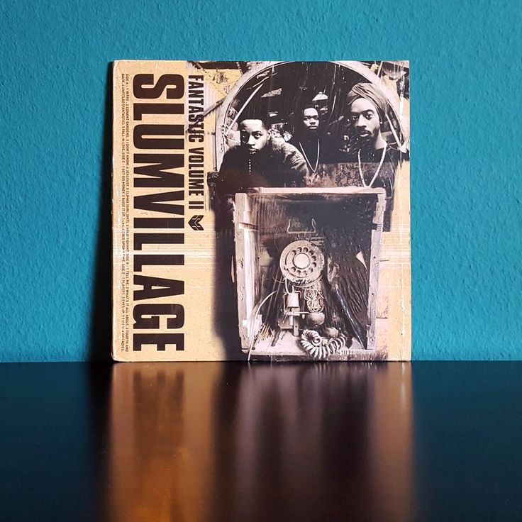 """Isaac Haze auf Instagram: """"Slum Village–Fantastic Vol. 2 (Wordplay Records, 2000) I cannot describe how much this album means to me - this is one of the records…"""""""