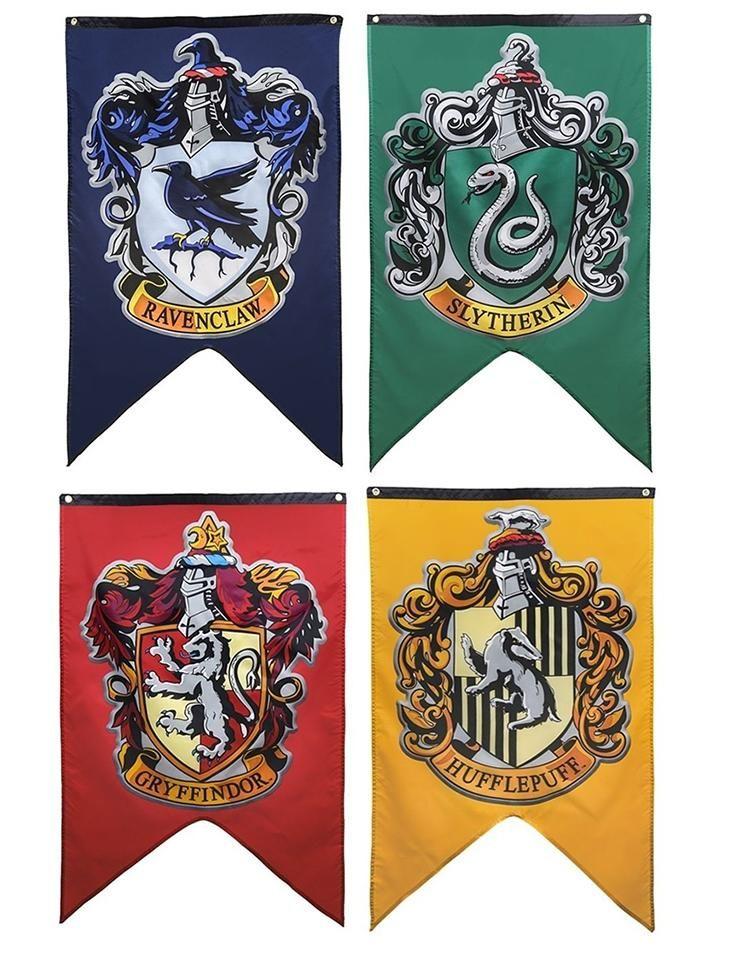 Hogwarts House Door Flag – SAVE 40% TODAY