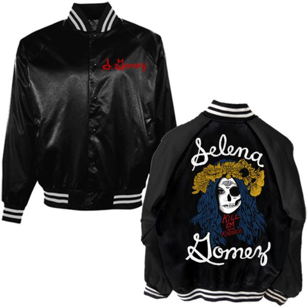 Selena Gomez's 'Revival' Tour Merchandise WWD ❤ liked on Polyvore featuring jackets