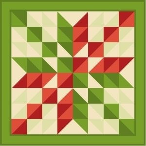 myQuiltGenie Blog: Scrappy Arrowhead Quilt