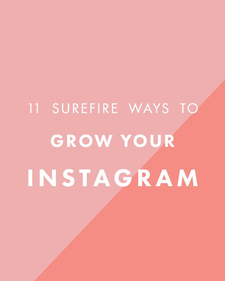 11 Surefire Ways to Grow Your Instagram Following - The Nectar Collective