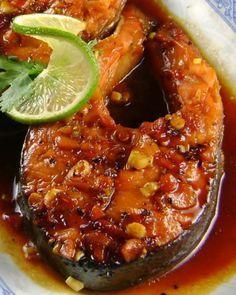vietnamese recipies   One Perfect Bite: Braised Vietnamese Fish - Ca Kho To - Foodie Friday