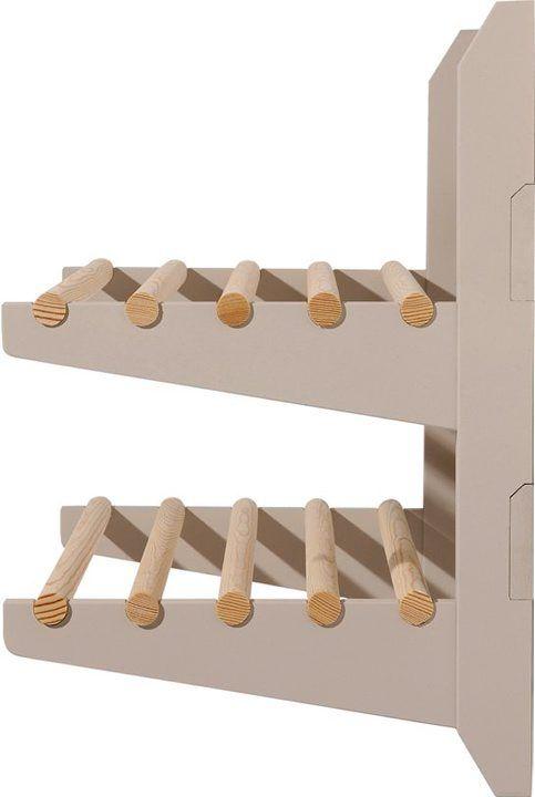 coat + shoe rack (detail)