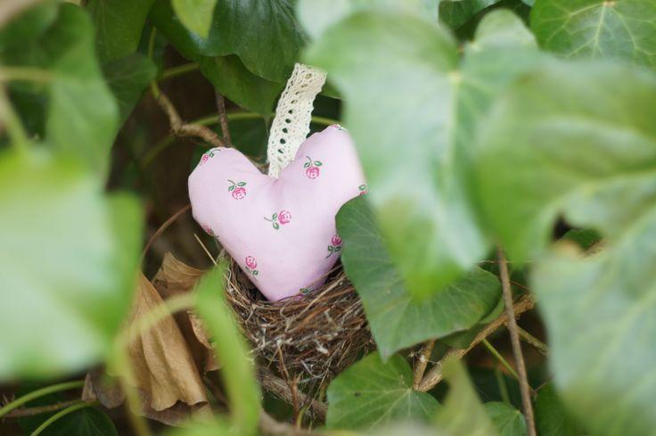 Pink lavender heart.