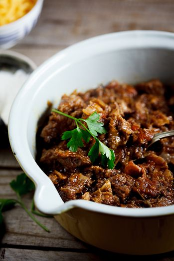 Slow-Cooked Beef Brisket Chili - Simply Delicious— Simply Delicious