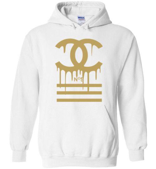 dde9276f5ff Gucci - Chanel Logo Gold Drip Hoodie in 2019
