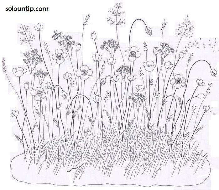 FLORAL: Meadow Flowers.