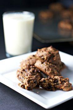 chickpea chocolate chip cookies ~vegan, gluten free~ - BeginWithin Nutrition