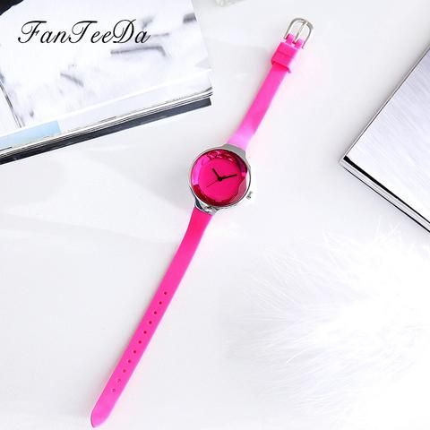 [EBay] Fanteeda Fashion Silicone Strap Quartz Watch Outdoor Casual Business Wristwatch Luxury Watches Womens Female Watch Clock