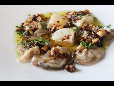 Recept voor oesters in hazelnootboter | njam!