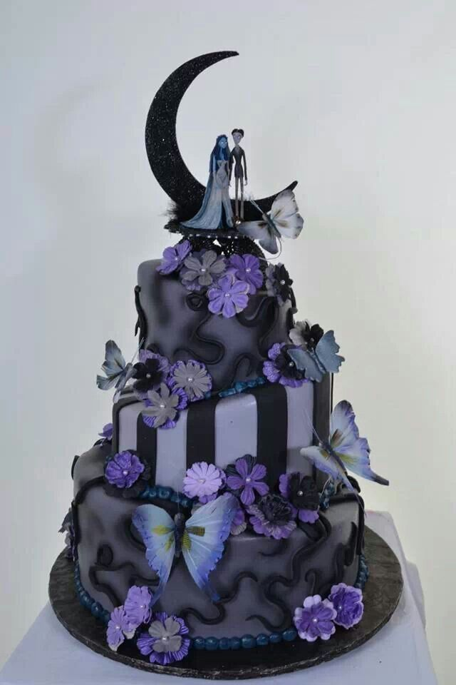 Purple and Black Wedding Cake Red Wedding Themes in 2018 Cake