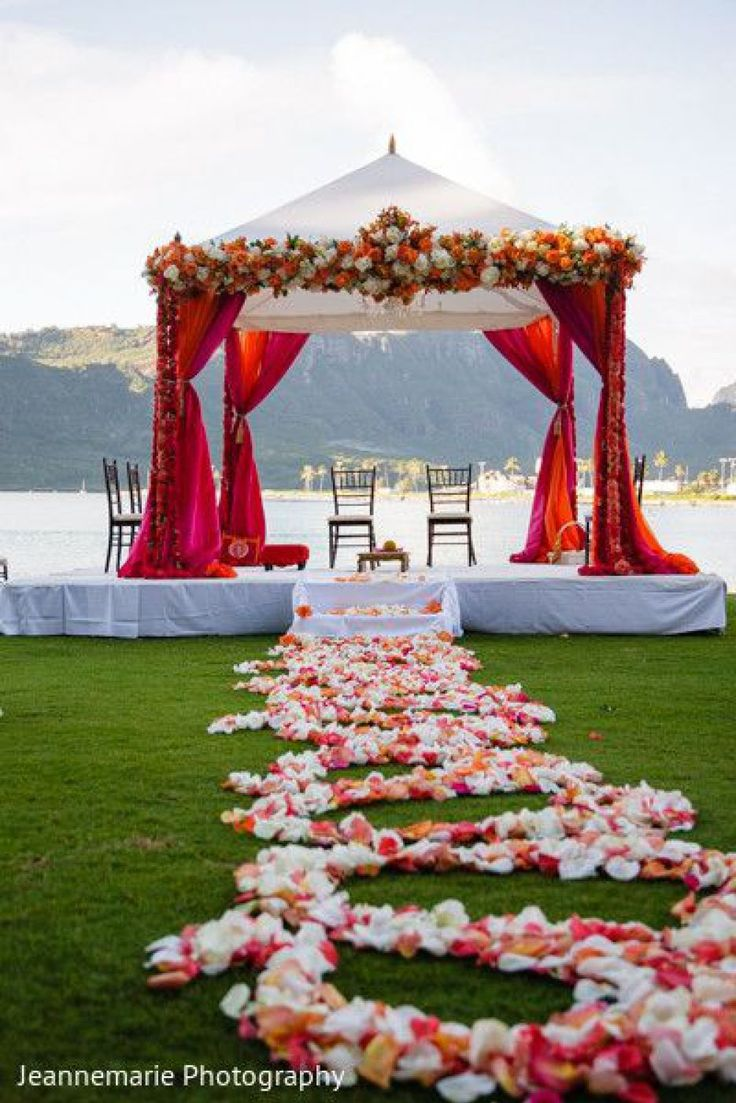 Wedding decoration ideas stage   best Mandap images on Pinterest  Indian weddings Hindus and