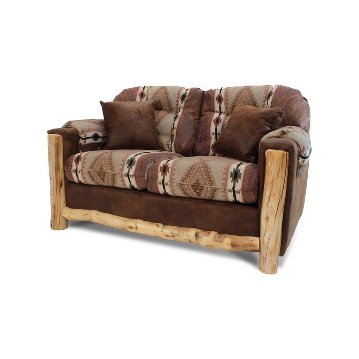 Whitcomb Loveseat Rustic Sofa Sofa Design Love Seat