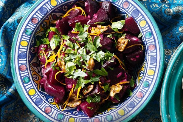 Roast Beetroot & Walnut Salad Recipe