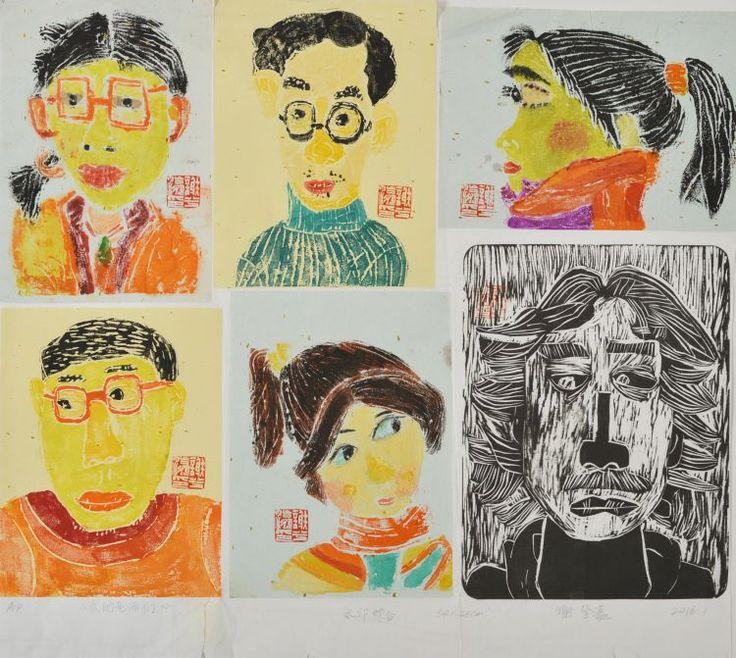 Čestné uznání: Xie Xiying (10 let), Sun Wei children