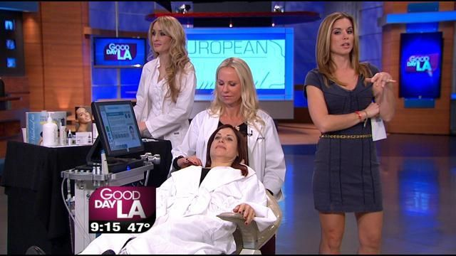 Did you see HydraFacial MD® featured on Good Day LA this morning? HydraFacial™ owner, Britta Wetteskind, demonstrates how to get Red Carpet Ready with a HydraFacial™ treatment!  #hydrafacial #skincare #skinhealthforlife