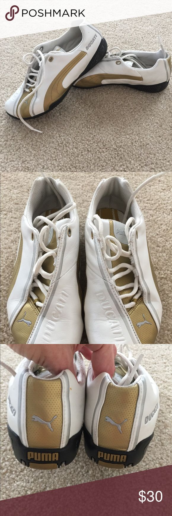 Puma Ducati sneakers Cute racing shoes. Great condition. 25% off of a bundle of 2 or more items!!!! Puma Shoes Sneakers
