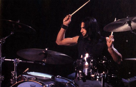 Brad Wilk's Arms. Obsessed.