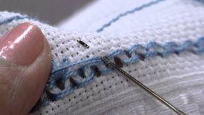 Mulher.com 12/09/2014 - Nos artesanatos, Leila Jacob ensina a fazer Toalha de Lavabo em Ponto Crivo Apresentação: Tatiane Camargo