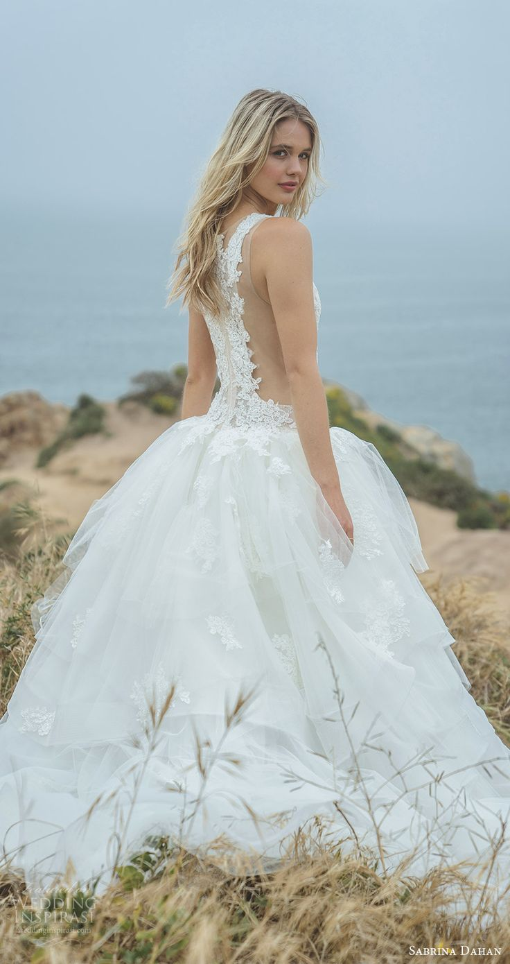 1672 best Bare Back Wedding Dresses images on Pinterest | Bridal ...
