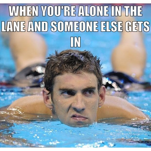 Swimmers problems