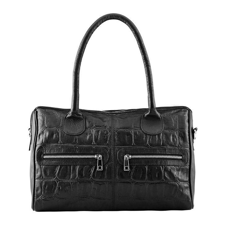 Sensual Fusion, medium bag, style 11096. Black.