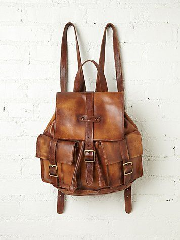 Cairo Distressed Backpack