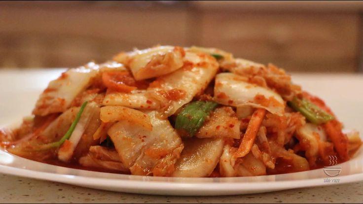 Cách làm Kimchi HànQuốc  - Jak udělat Korejský Kimchi