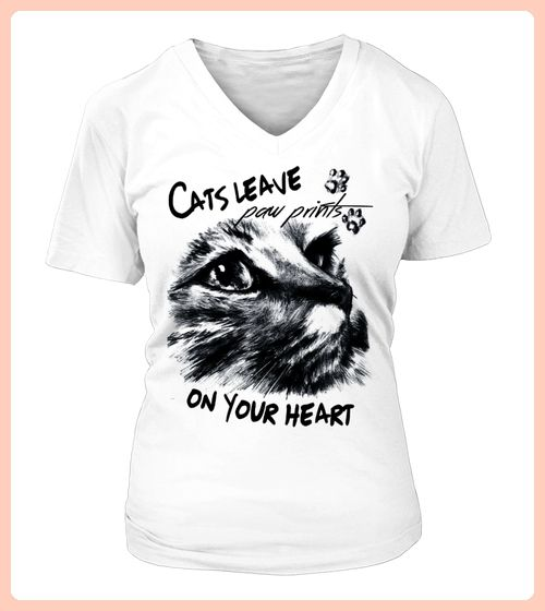 Exklusives Cats leave paw Shirt  (*Partner Link)