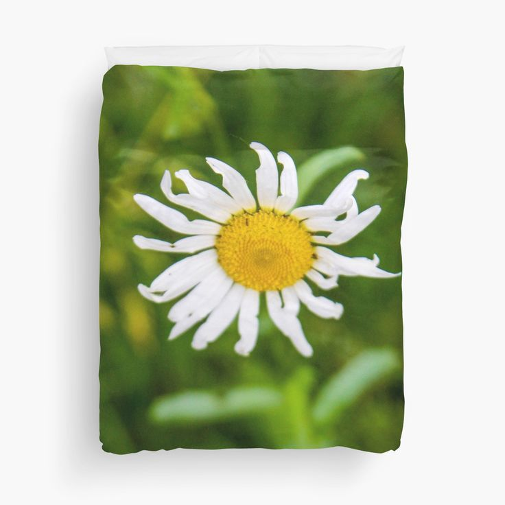 Little Daisy - Duvet Cover - by vampyba