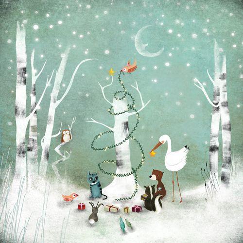 """""""Un Noël Enchanté"""" by Anne-Julie Aubry"""