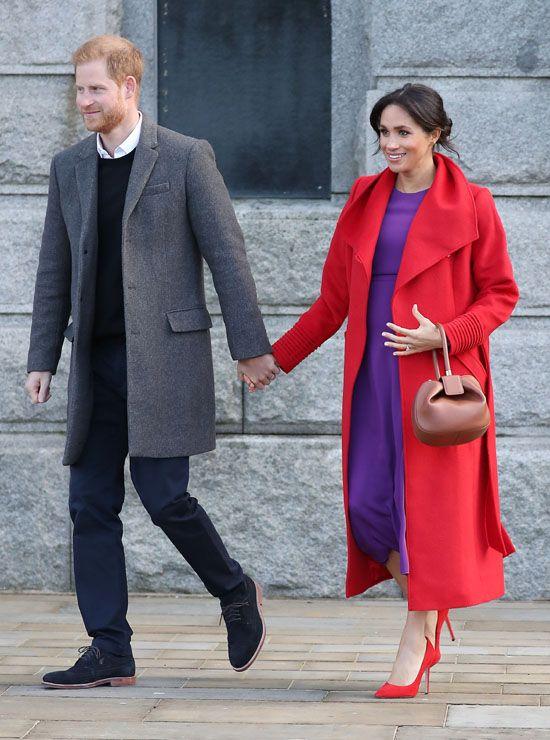 5da462721 Meghan Markle  así ha marcado la diferencia frente a Kate Middleton durante  su embarazo -