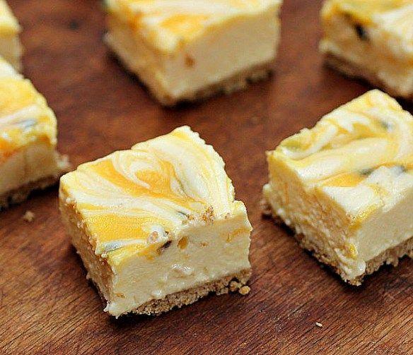 Cheesecake de limón y maracuyá - sin horno - Cocina Central