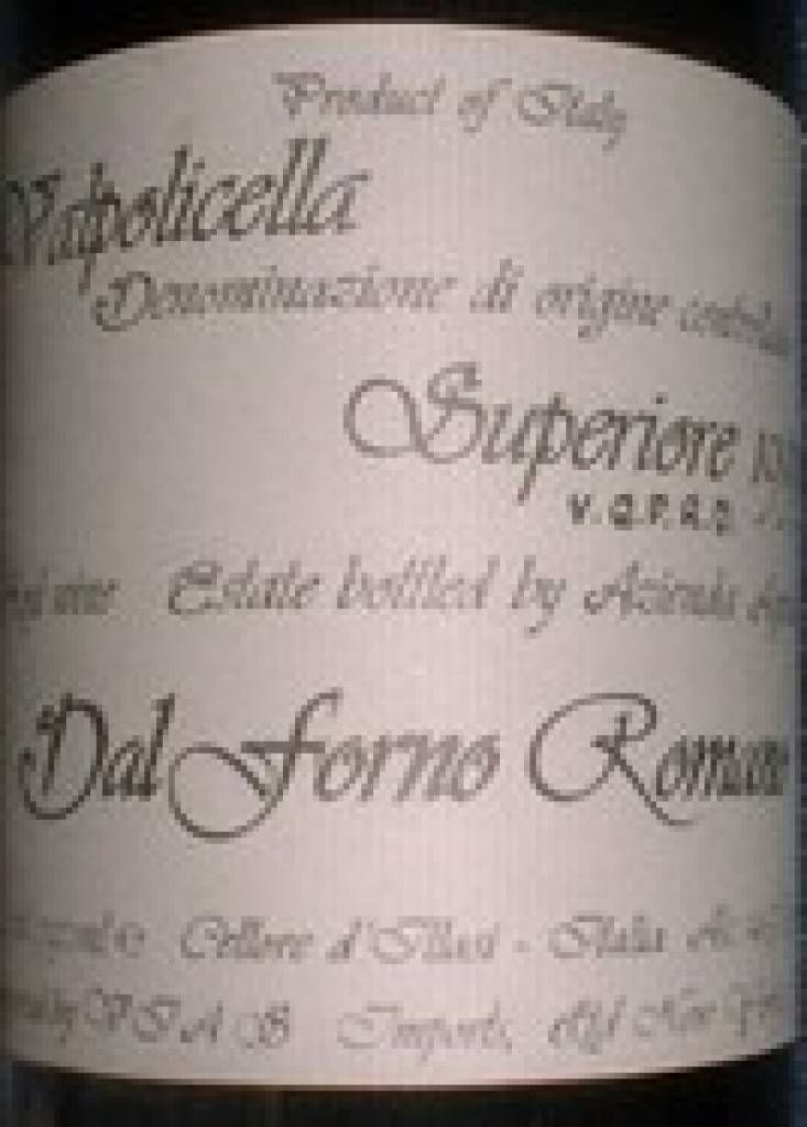 2001  Romano Dal Forno Amarone $547,13 Incl. Tax