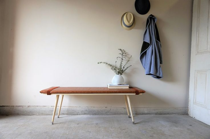 How To Make a Leather Bench with Only One Power Tool