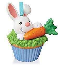 Some Bunny to Love Keepsake Christmas Cupcake Ornament 2016 Hallmark