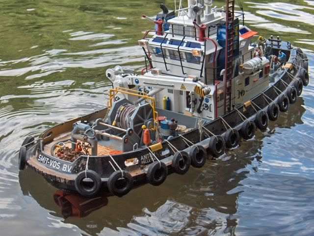 Seaport Tug, very nicely done! | Tug boats, Boat, Model ships