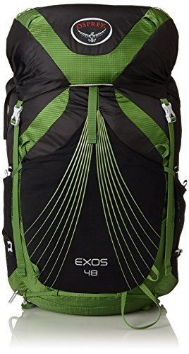 Osprey Packs Exos 48 Backpack, Basalt Black, Medium >>> To view further for this article, visit the image link. #BackpacksBags