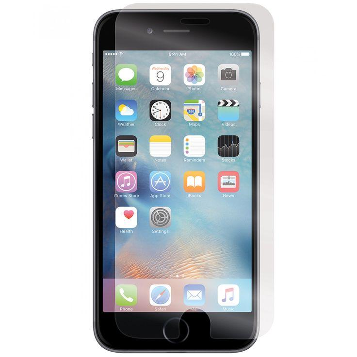 Incipio Mica iPhone 7 Plex ; el protector de pantalla de vidrio templado Plex está diseñado para proporcionar protección contra impactos y arañazos a la pantalla del dispositivo mientras mejora la experiencia del usuario. La superficie ultra lisa es pulid