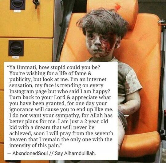 Ya Rab grant Jannah for all the suffering and pain my brothers and sisters in Syria face