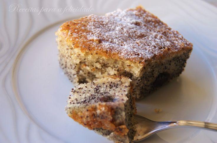 Alguém pediu um bolo de frutas? Este é simplesmente delicioso!
