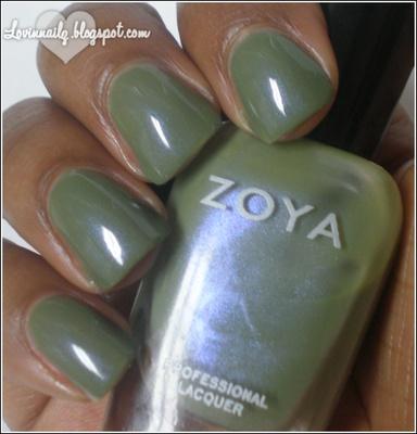 Zoya   Gemma   ZP544   Intimate   Spring 2011