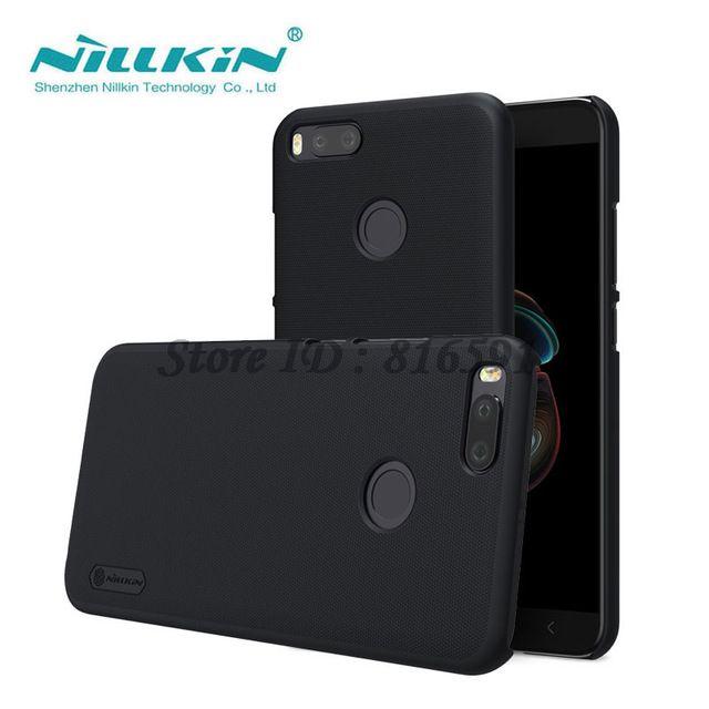 Nillkin Xiaomi Mi A1 Case Xiaomi Mi 5x Case Frosted Shield Hard Back Cover For Xiaomi Mi 5x Mi A1 Mi5x Gift Screen Protector Nillkin Best Laptops Xiaomi
