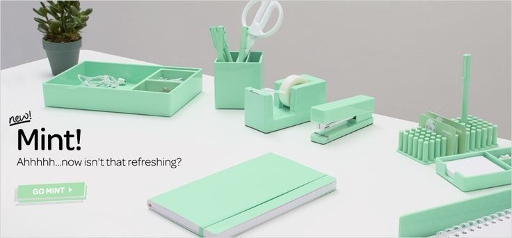 if your OCD and love when things are color coded this site is for you! love the mint!