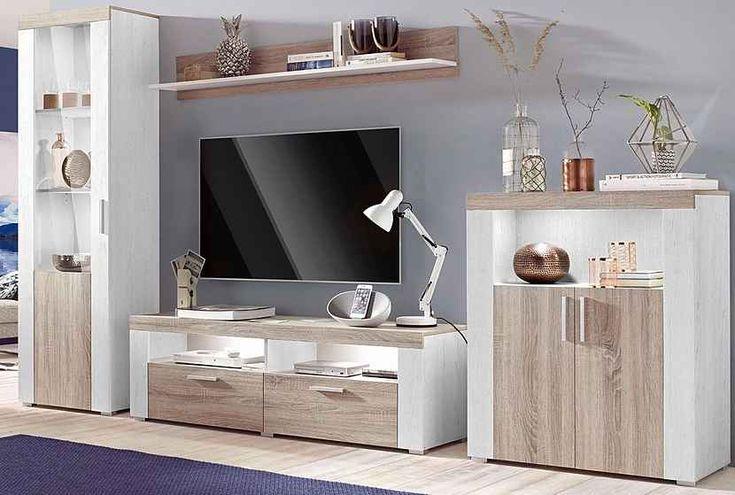 TRENDMANUFAKTUR Wohnwand, Set, 3 tlg, Hochglanz Fronten online kaufen   OTTO   Wohnwand ...