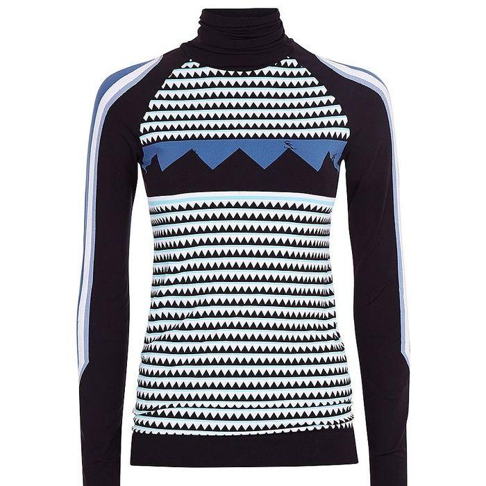 Women's Ski Wear//#5 Sweaty Betty Mountain Top Seamless Ski Base Layer #rankandstyle
