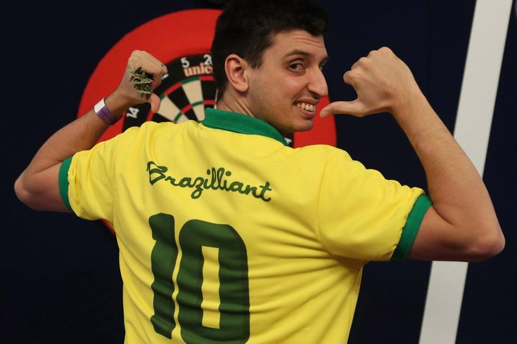 DIOGO PORTELA can follow famous No 10s Pele, Rivaldo, Zico and Neymar in sporting folklore with a 'Brazilliant' darts debut tonight. The 29-yr-previous Samba star will proudly put on the long-lasting yellow shirt on the oche when he takes on Scot Peter Wright within the first spherical at Ally P...