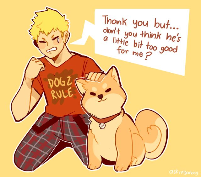 Well then ryuji, it's time for you to change