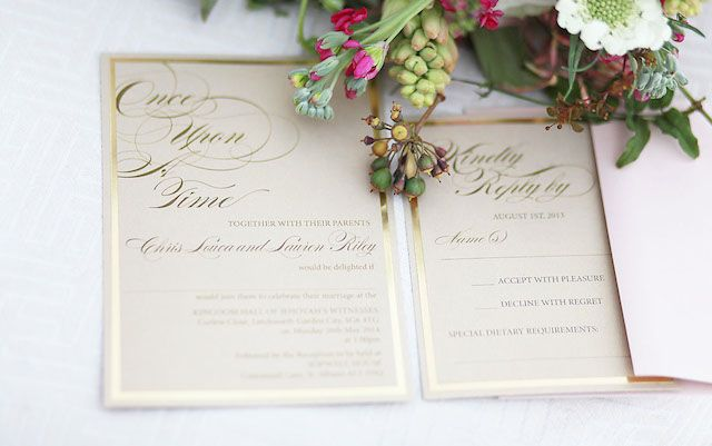1000 Ideas About Fairytale Wedding Invitations On Pinterest