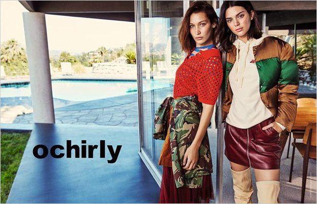Белла Хадид и Кендалл Дженнер в Ochirly (Интернет-журнал ETODAY)